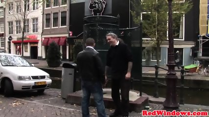 Dutch Prostitute Cumsprayed While Fingering - scene 4