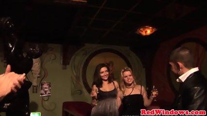 Dutch Prostitute Cumsprayed While Fingering - scene 5