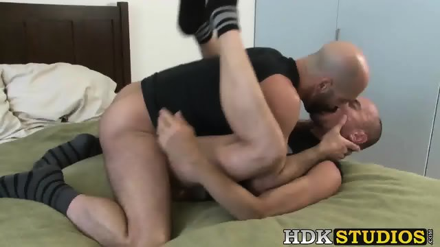 Hunk Adam Russo and Jayson Park suck hard and fuck bareback