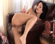Toy In Brunette's Ass Hole - scene 8