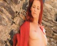 Amazing Redhead In Magical Scenery - scene 5