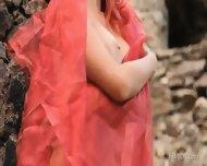 Amazing Redhead In Magical Scenery - scene 6