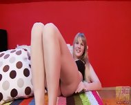 Amateur Blonde's Delicate Mouth - scene 3
