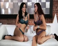 Cute Lesbians Play With Toys - scene 1