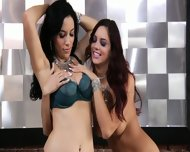 Cute Lesbians Play With Toys