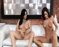 Cute Lesbians Play With Toys - scene 5