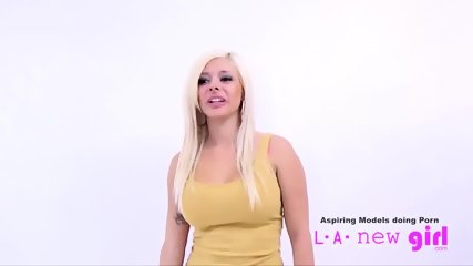 HOT BLONDE FUCKED BY CASTING AGENT AT AUDITION - scene 8