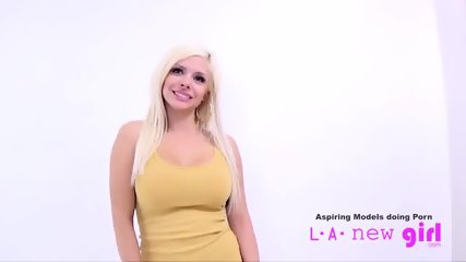 HOT BLONDE FUCKED BY CASTING AGENT AT AUDITION - scene 5