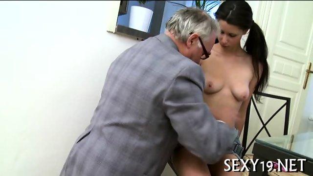 Teacher pounds babe senseless