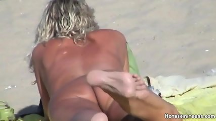 Beach Voyeur Nude Females Spy Cam HD Video - scene 6