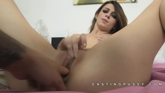 Aspen Ora close up pussy teasing