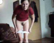 Amateur Girl Strip and Blowjob - scene 2