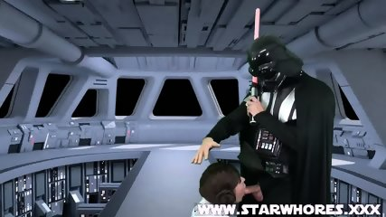 Star Wars Hardcore Anal - scene 3