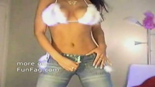 Busty chick dances and teases!