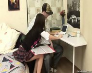 Sweet Teen Is An Example Of Perfect Lover - scene 1