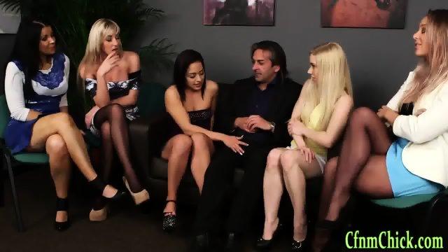 Fetish cfnm mistress suck