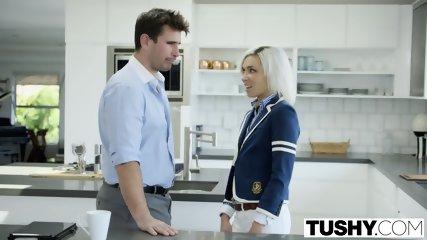 TUSHY Super Small Teen Kacey Jordan Takes It In The Ass - scene 2