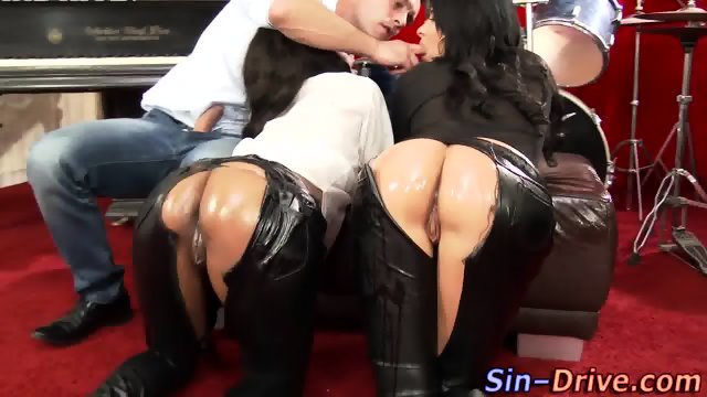 Wam leather hos fucked
