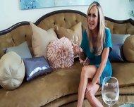 Two Blonde Pornstars Compare Their Bodies - scene 8