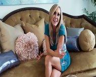 Two Blonde Pornstars Compare Their Bodies - scene 9