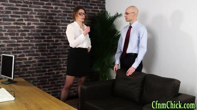 Cfnm mistress mock sissy