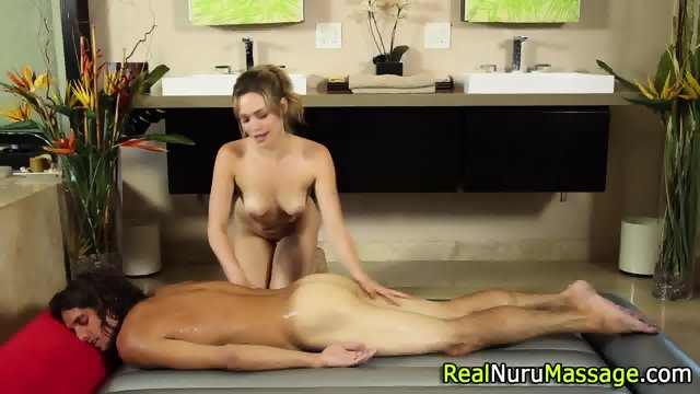 Hot masseuse cunt fucking