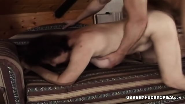 Saggy Granny Bent Over And Fucked Eporner