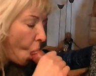 Wife gives a Blowjob - scene 6