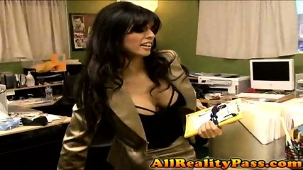 Watch Spanish Shy Get Fucked on the Desk!