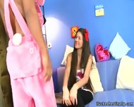 Stasy Is Bad Girl Which Plays With Black Dick - scene 1
