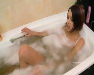 Foam Covered Varvara's Body