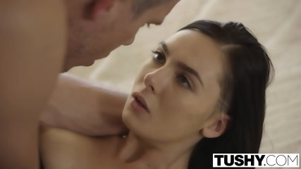 TUSHY Real Fashion Model Marley Brinx Intense Anal Fucking - scene 9