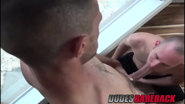 Brett fucks Trit hard on his back and making him his bitch