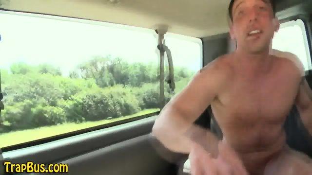 Dude blows straight hunk - scene 10