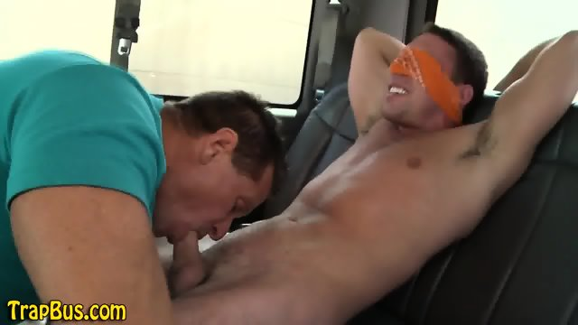 Dude blows straight hunk - scene 7