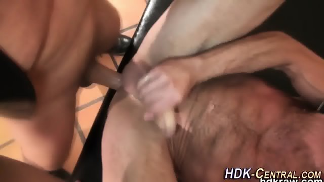 Mature bear blows load - scene 8