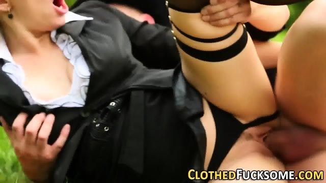 Glam whore rides cock - scene 11