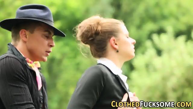 Glam whore rides cock - scene 7