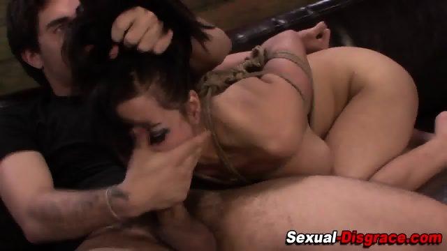 Helpless slave gets fuck - scene 9