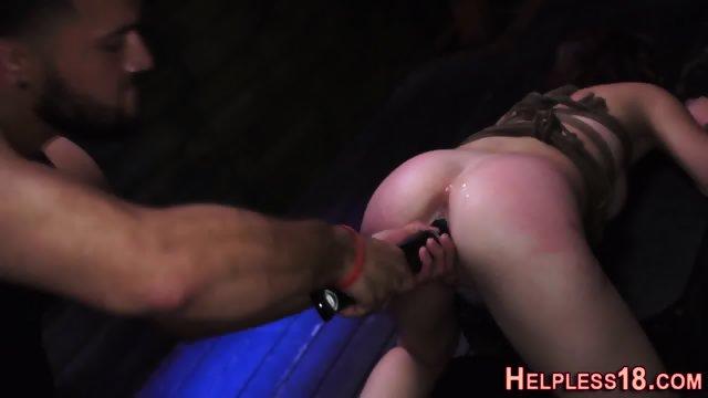 Teen hitchhiker facefuck - scene 8