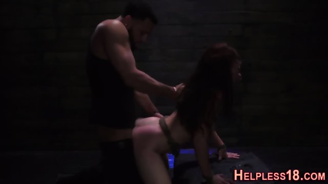 Teen hitchhiker facefuck - scene 12