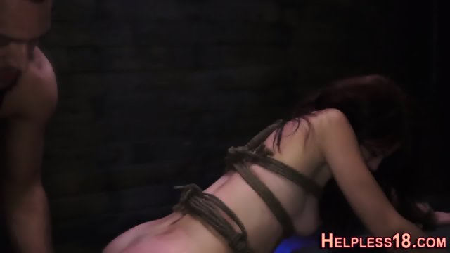 Teen hitchhiker facefuck - scene 4