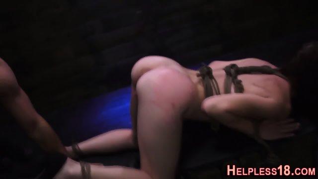Teen hitchhiker facefuck - scene 7