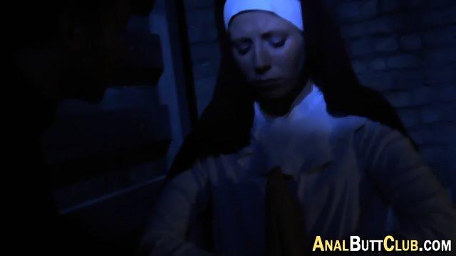 Booty nun gets humped - scene 3