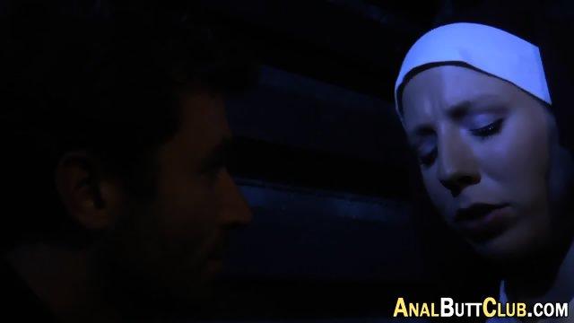 Booty nun gets humped - scene 5