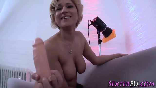 German milf with big tits - scene 12