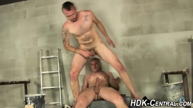 Buff stud raw dawgs ass - scene 3