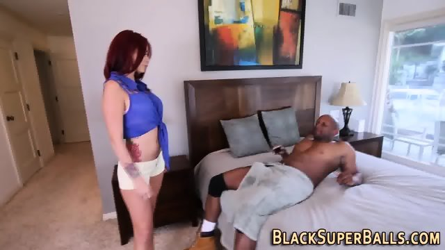 Tattooed milf sucks bbc - scene 2