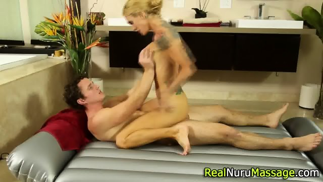 Wam masseuse jizz drench - scene 8