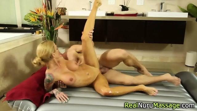 Wam masseuse jizz drench - scene 9